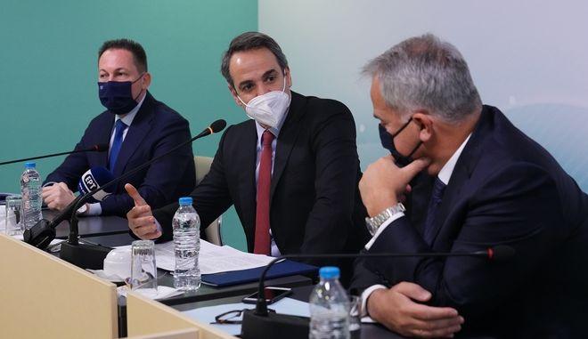 mitsotakis ΥΠΕΣ Μητσοτάκης Βορίδης Πέτσας