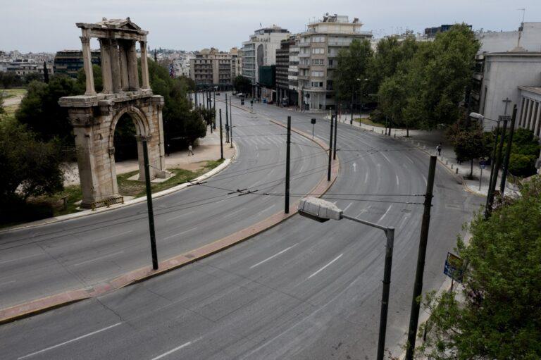 lockdown_attiki-Αθήνα